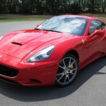 Ferrari California detailed in Leesburg Virginia