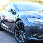 Tesla Model S detailed in Ashburn Virginia