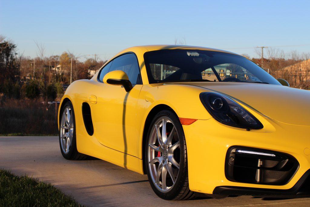 Porsche Cayman GTS detailed in Fairfax Virginia