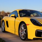 Porsche Cayman GTS detailed in Fairfax Virginia